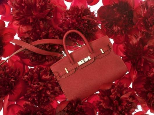 Hermès Tiny Birkin in Ruby Epsom Calfskin