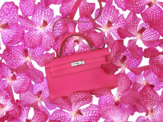 Hermès Tiny Birkin in Tyrian Rose Epsom Calfskin