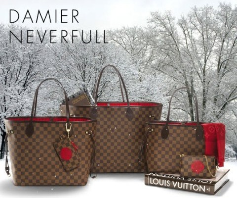 Сумки Damier Neverfull от Louis Vuitton