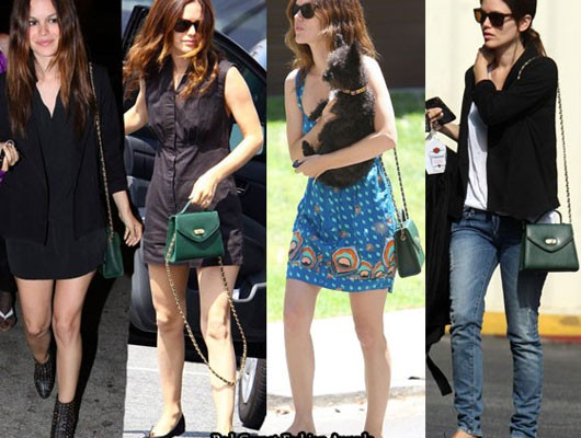 Рэйчел Билсон с сумочкой от Chanel