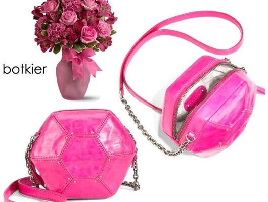 Art deco в розовом цвете от Botkier