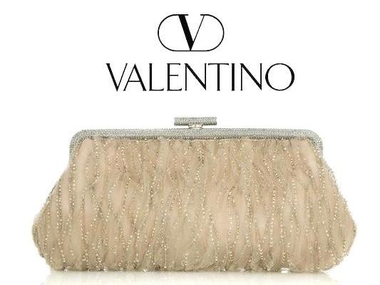 Valentino: клатч должен быть роскошным