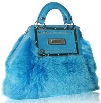 Меховая сумочка от Versace