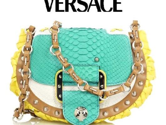 Versace: сумочка для Алисы из страны Чудес