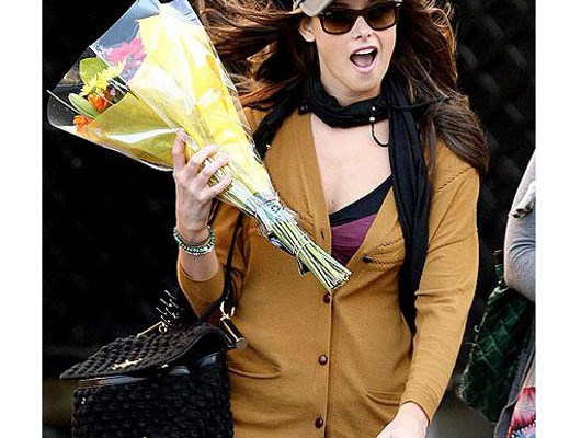 Эшли Грин с сумкой от Dolce & Gabbana