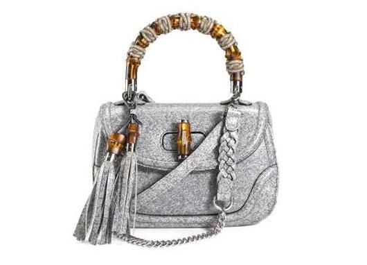 Gucci: сумки с деталями из бамбука
