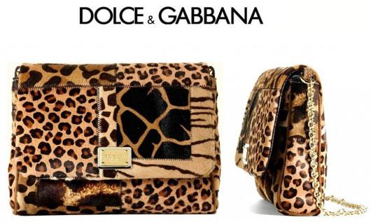«Залатанная» сумочка от Dolce & Gabbana
