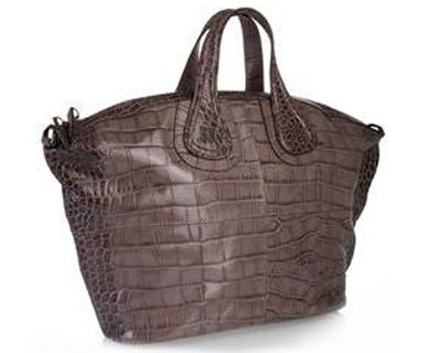 Givenchy: Croc Nightingale Bag