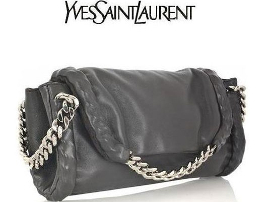 Yves Saint Laurent: цепи и кожа