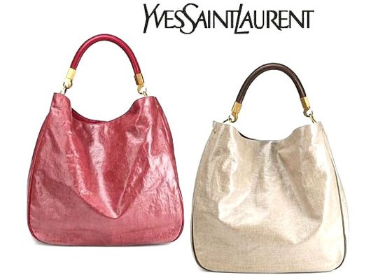 Льняная сумка от Yves Saint Laurent