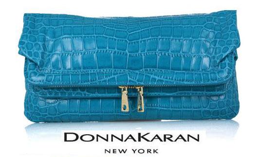 DKNY: экзотический клатч