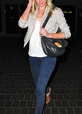 Кейт Босворт с сумкой от Mulberry