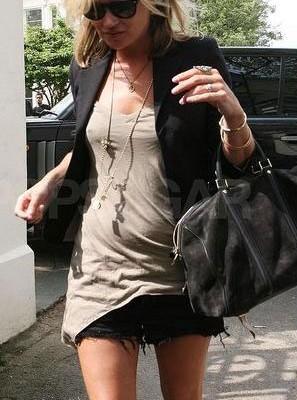 Кейт Мосс с сумкой от Louis Vuitton