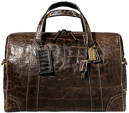 Coach: Legacy Crocodile Medium Duffle