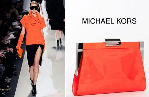 Осенняя мода с Runway Clutch от Michael Kors