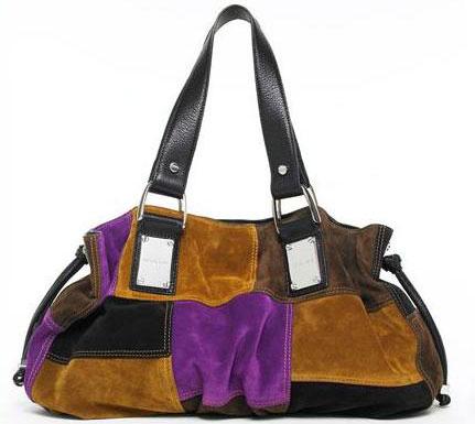 Michael Kors: сумка в стиле пэчворк