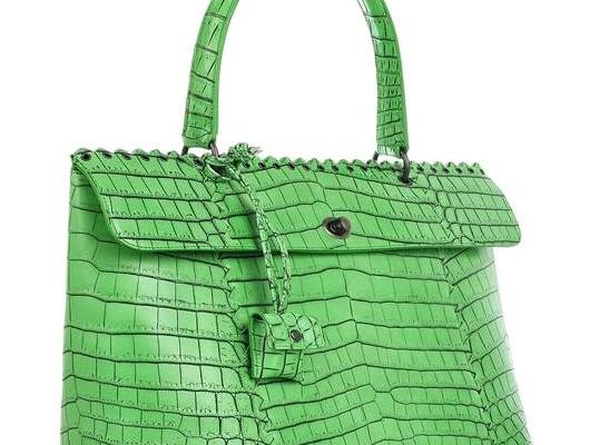 Bottega Veneta: крокодиловый шик