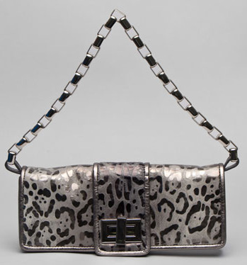 Kooba Metallic Leopard Penelope Clutch