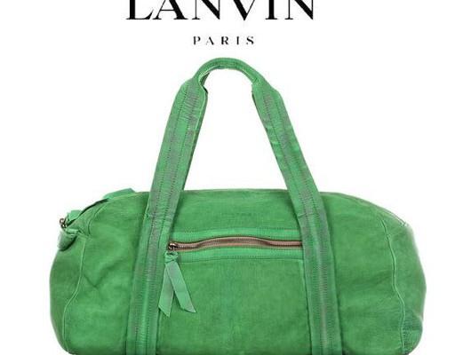 Lanvin вступает в партию «зеленых»