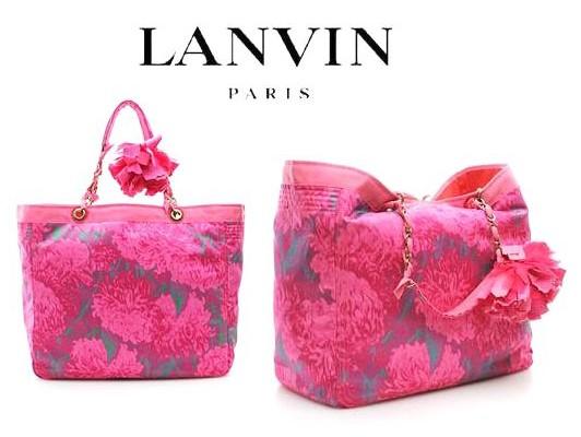 Lanvin в царстве цветов
