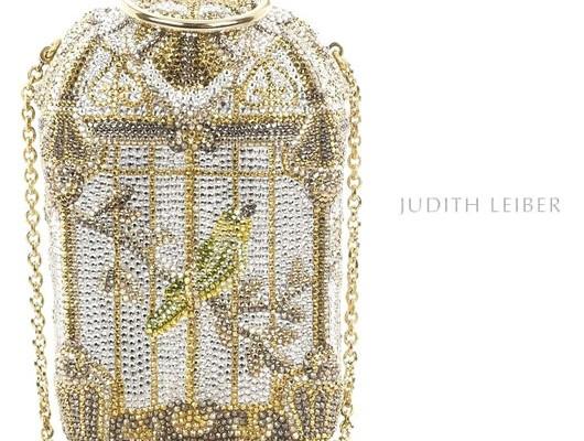 Judith Leiber посадила птичку в клетку