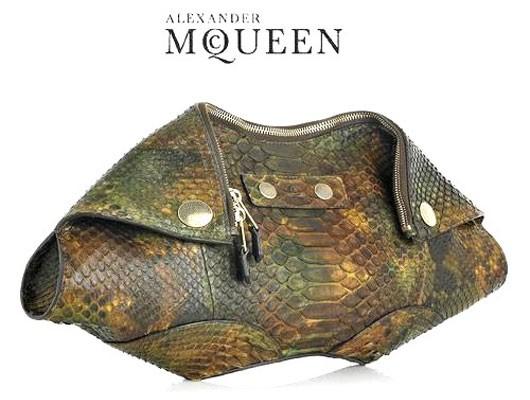 Инновационный клатч от Alexander McQueen