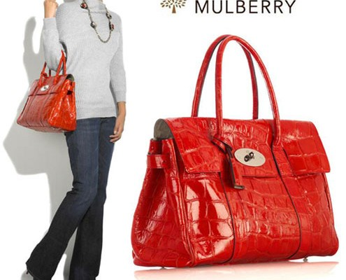 Mulberry: классическая сумка Bayswater