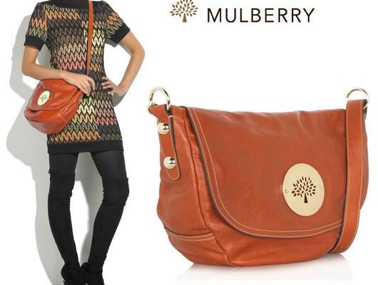 Mulberry: апельсиновая версия сумки Daria
