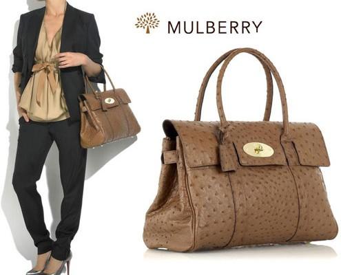 Mulberry обновляет сумку Bayswater