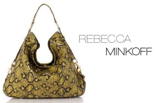 Экзотическая сумка от Rebecca Minkoff