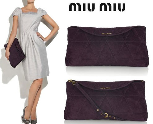 Messenger Bag от Miu Miu