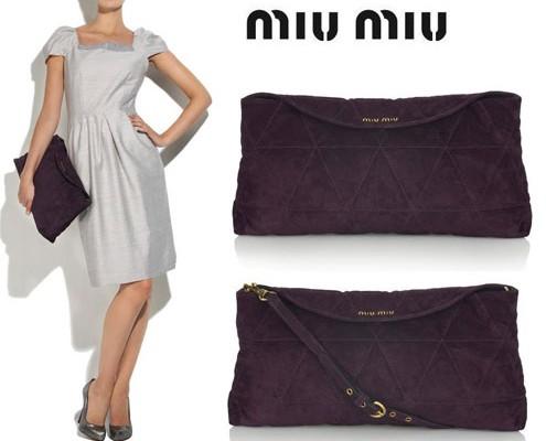 Messenger Bag от Miu Miu