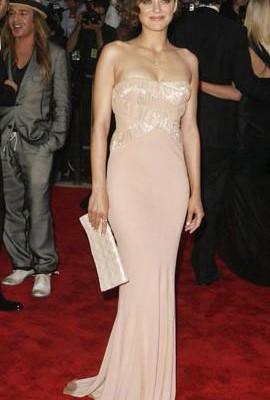 Марион Котийяр: наряд от Dior