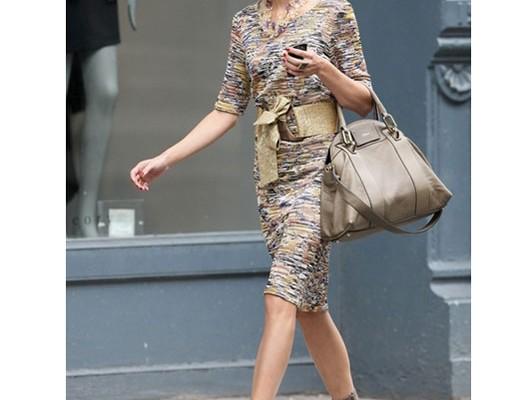 Оливия Палермо с сумкой Chloe Gemma Bag