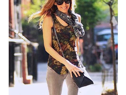 Сара Джессика Паркер с сумкой от VBH
