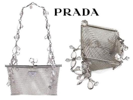 Металлический этюд от Prada