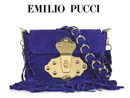 Смелая сумочка от Emilio Pucci