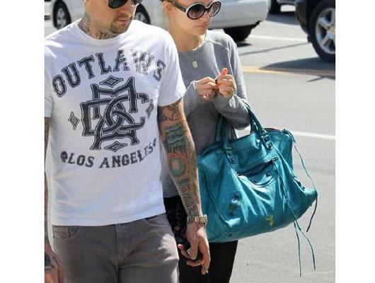 Николь Ричи с сумкой от Balenciaga