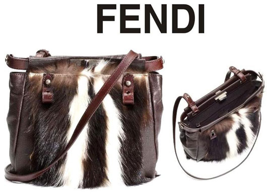Дизайнеры Fendi укротили скунса!!!