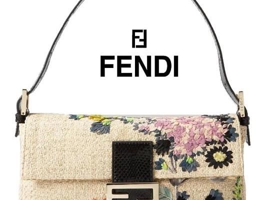Цветочный багет от Fendi