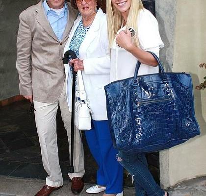 Хайди Монтаг c сумкой от Balenciaga