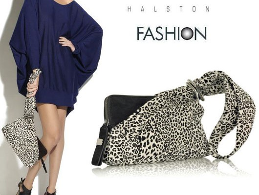 Halston: немного дикой кошечки