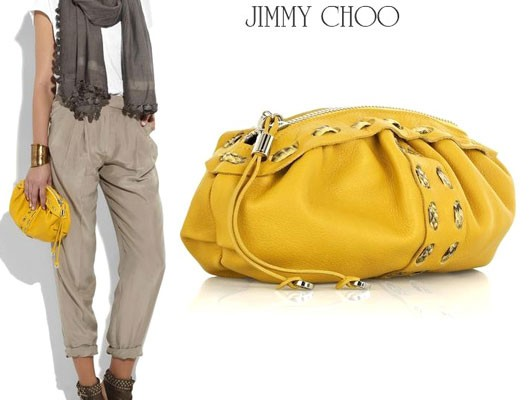 Яркий акцент от Jimmy Choo