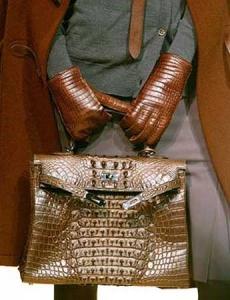 Экзотическая кожа: сумка Birkin от Hermes
