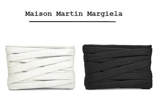 Сумочка — бандаж от Maison Martin Margiela